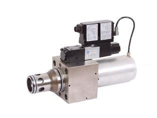 中国 6300L/min 油圧比例した弁 MA-LIQZO-LES 2 の方法カートリッジ弁 25、32 サプライヤー