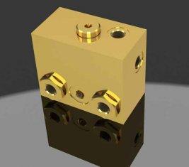 比例電磁ブレーキ リリース方向油圧バルブ WYS 1 H