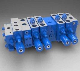 中国 完全な負荷機密マルチ - 5 方法方向油圧バルブ LTYB-G28L-t サプライヤー