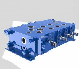 クレーン組合せ制御方向油圧バルブ QYSF18-15