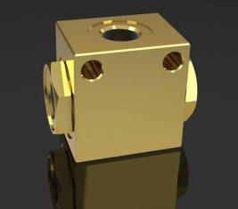 方向油圧ソレノイド バルブ平方フィート-H10L クローラー クレーンのシャトルします。