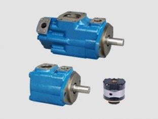 1200 Rpm 単一ビッカース油圧ポンプ水-油エマルションします。