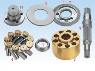 LPVD64/75/90/100/125/140/150 (A912 - 04) 油圧ポンプ部品