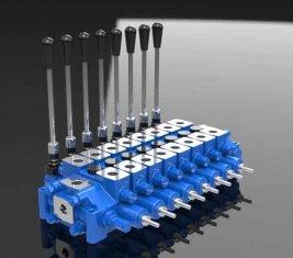 中国 スプール方向制御バルブ HCD6 油圧リリーフを組み合わせる サプライヤー