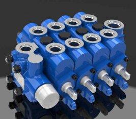 マルチ方法油圧の方向制御バルブ 4GCJX G12L エンジニア リング