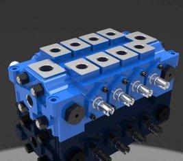 中国 複数油圧工学の方向制御バルブ DL の結合 サプライヤー