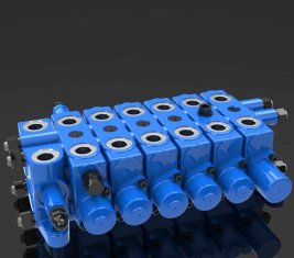 マルチ - 方法水圧用リリーフ組み合わせ方向制御バルブ DL