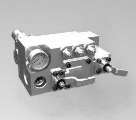 420 400 バー手動の水方向制御バルブ CLSF38-1