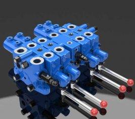 油圧チェック多方向制御バルブ DLYS マイニング