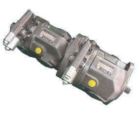 コントロール タンデム油圧ポンプ A10VSO28 トルク 125 Nm の流れ